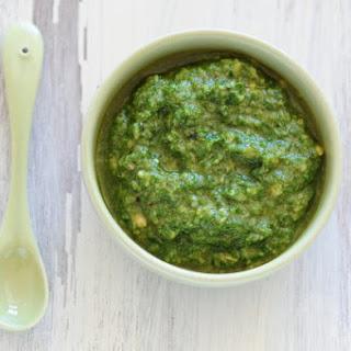 Spicy Cilantro–Marcona Almond Pesto.