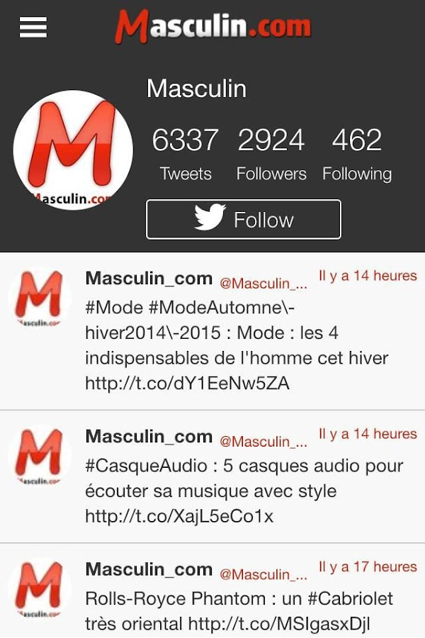 Masculin.com- screenshot