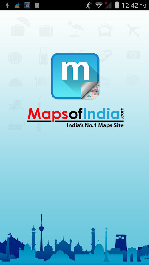 Maps of India:Travel Guide - screenshot