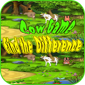 Cow Game for Kids - Difference