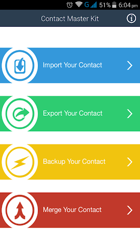 Contacts Kit - Backup Import