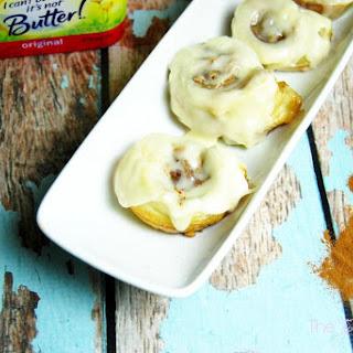 Quick Puff Pastry Cinnamon Nut Rolls.