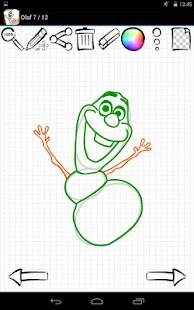 Game Learn to Draw Olaf Frozen APK for Windows Phone