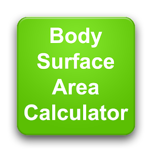 how to find body surface area
