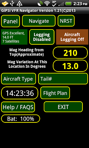 VFR World GPS Airplane Nav APP