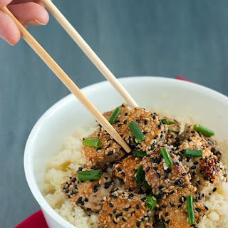 Sesame Crusted Tofu.