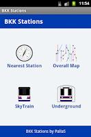 Screenshot of BKK Stations