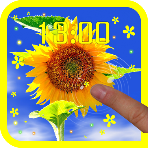 Sunflower Photo live wallpaper 個人化 App LOGO-APP開箱王
