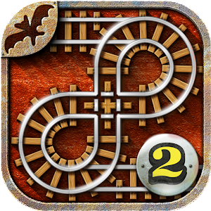 Rail Maze 2 : Пазл с Поездами
