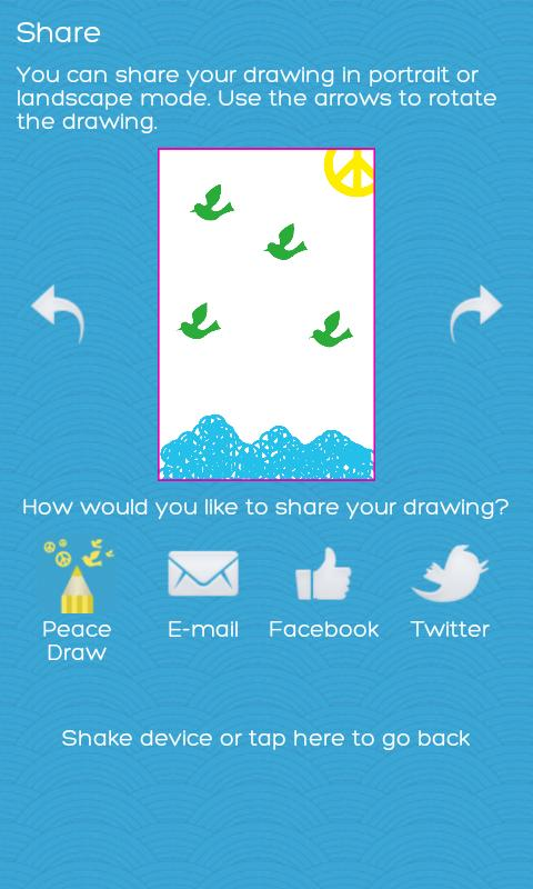 Peace Draw Free - screenshot