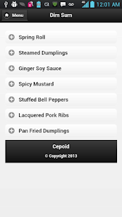 Chinese Cooking Recipes - screenshot thumbnail