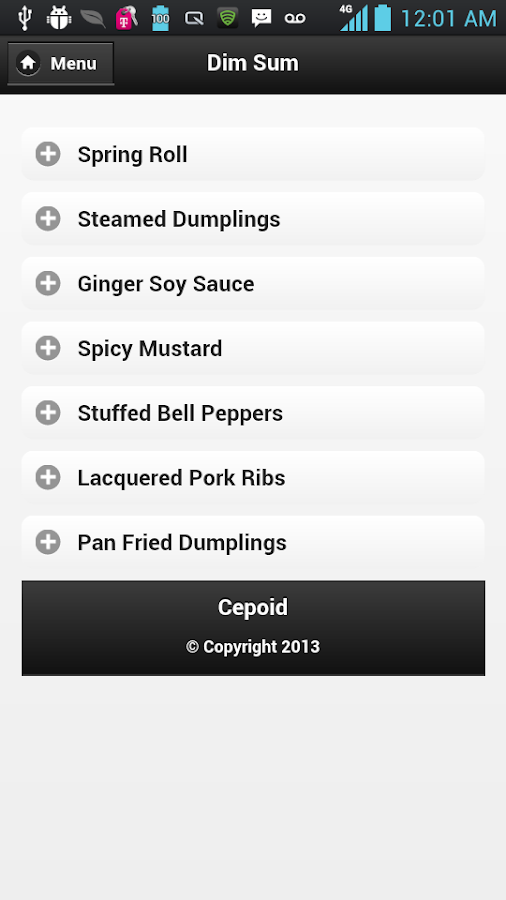 Chinese Cooking Recipes - screenshot