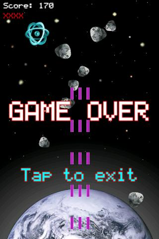 Meteor Mash Space Shooter Free- screenshot