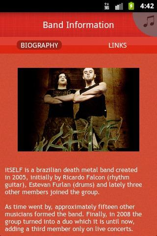 itSELF - Brazilian Death Metal - screenshot
