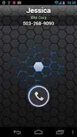 Screenshot of RocketDial CallerID Black Ring