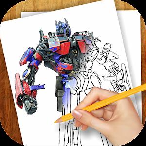Naucz się rysować Transformers APK