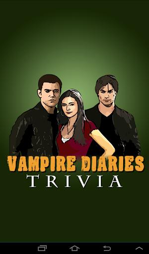 Trivia Quiz: Vampire Diaries
