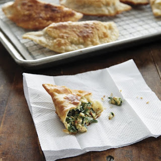 Chinese Chive And Pressed Tofu Turnover.