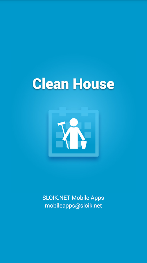 Clean House - chores schedule - screenshot