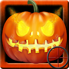 Halloween sniper shooter icon