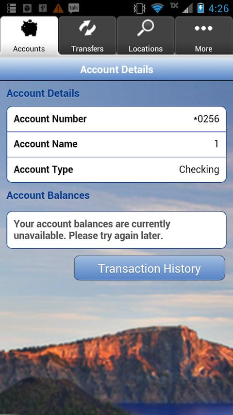 Rogue Federal Credit Union - screenshot