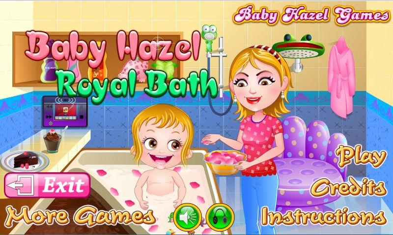 Baby Hazel Royal Bath- screenshot