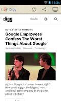 Screenshot of Tech News