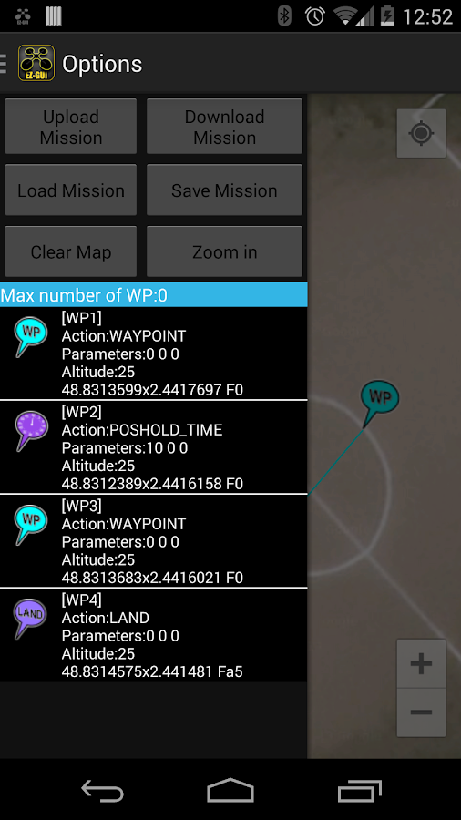 EZ-GUI Ground Station Unlocker - screenshot