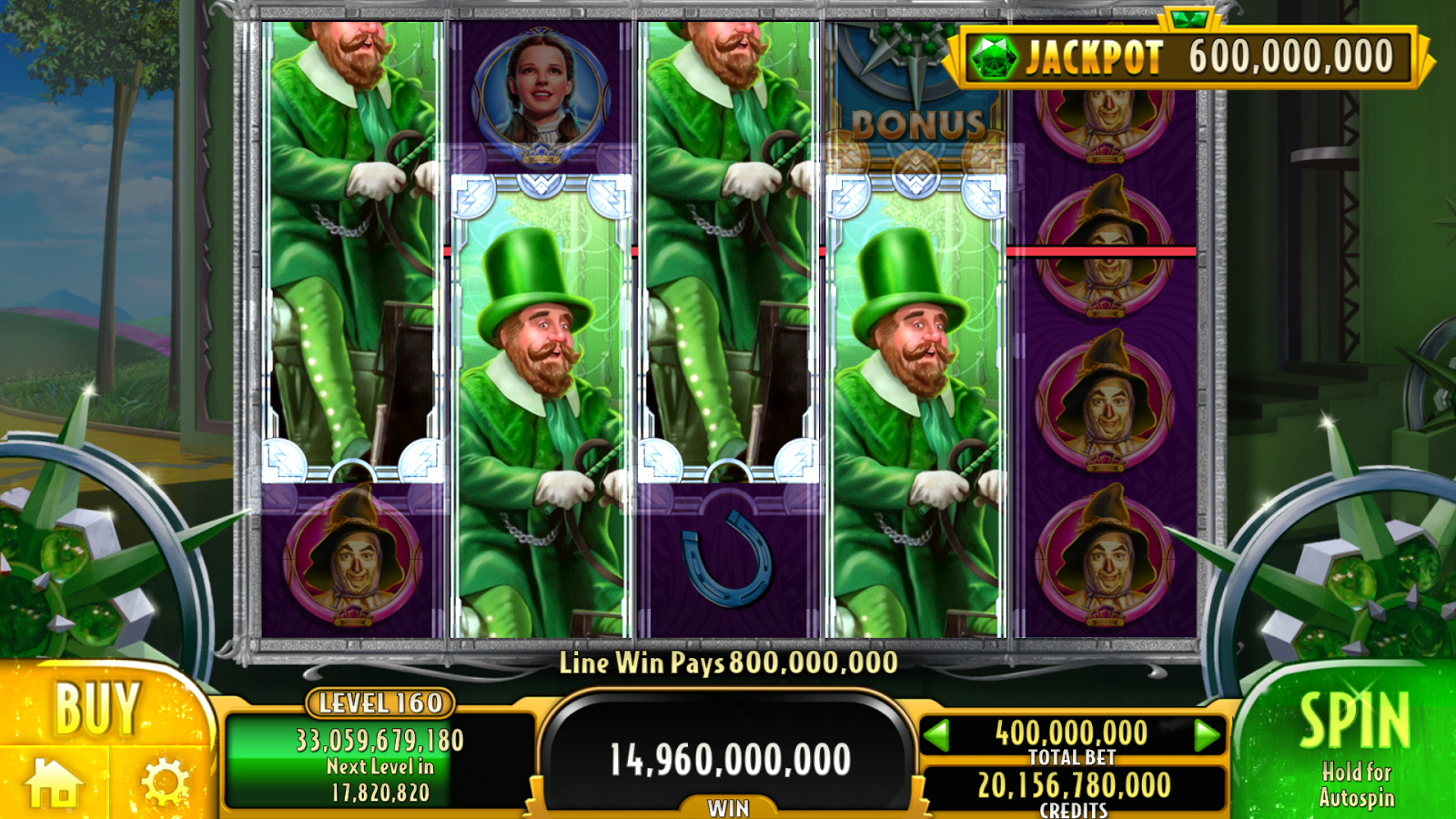 free slot games wizard of oz