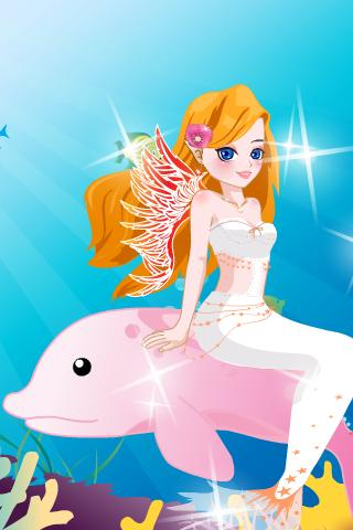 Mermaid Princess Dress Up- screenshot