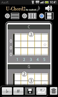 UChord2 (Ukulele Chord Finder)- screenshot thumbnail
