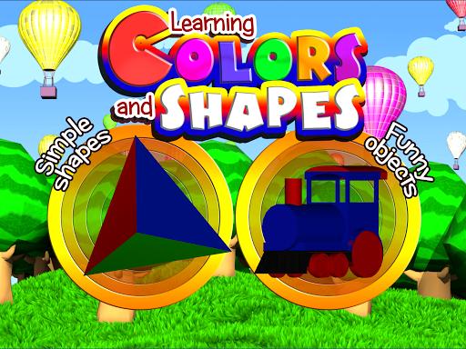 Colors Shapes 3D For Kids