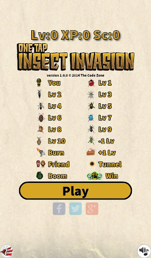 One Tap Insect Invasion