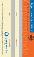 Screenshot of Organspende Ausweis