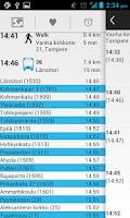 Screenshot of Bussit Tampere Reittiopas