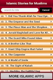 250 Islamic Stories For Muslim Screenshot 2