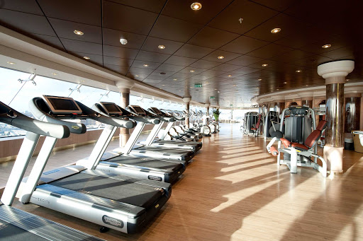 MSC-Magnifica-Aurea-fitness - The Aurea Spa aboard MSC Magnifica has all the latest equipment for you to keep up your exercise regimen.