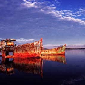 skyroof by Pras Manan - Transportation Boats