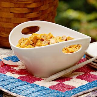Sweet Potato Salad with Rosemary-Honey Vinaigrette