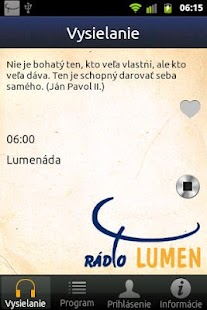 Rádio LUMEN - screenshot thumbnail