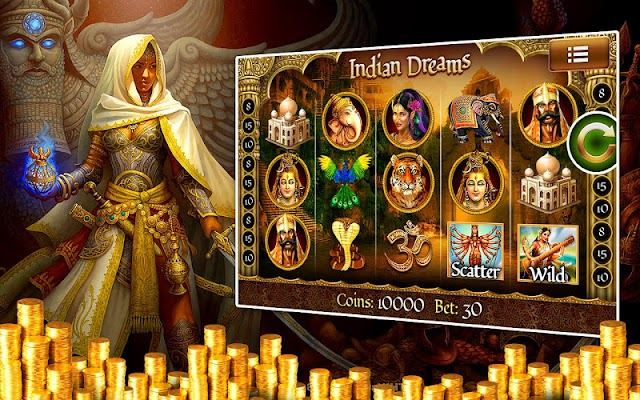 Slots: Indian Dream FREE SLOTS - screenshot