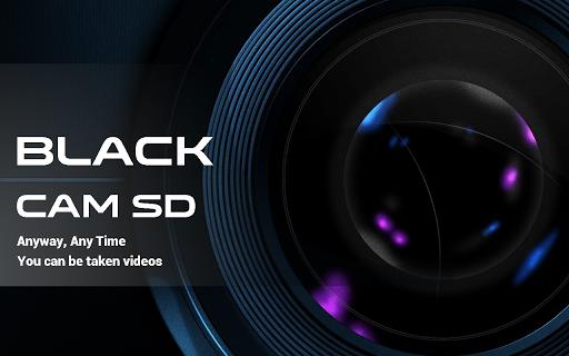 블랙캠 SD 무음 무화면 비디오 카메라