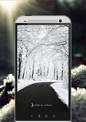 玩免費工具APP|下載降雪屏幕鎖定 app不用錢|硬是要APP