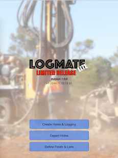 LogMATE -Geology Logging- screenshot thumbnail
