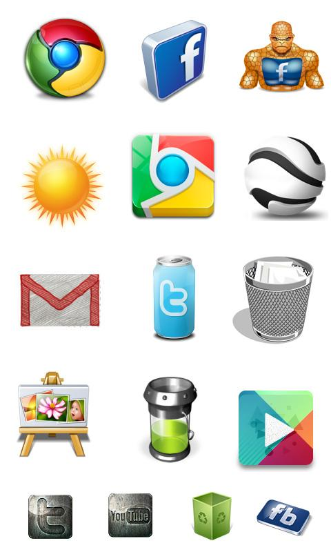 Free App Icons & Icon Packs ► - screenshot