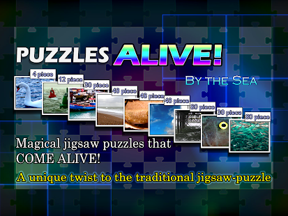 Puzzles ALIVE! By The Sea- screenshot thumbnail