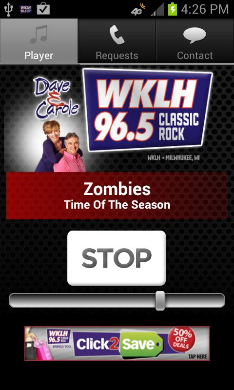 96.5 WKLH - screenshot