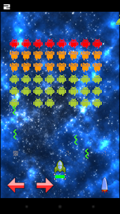 Earth and Space Invaders- screenshot thumbnail