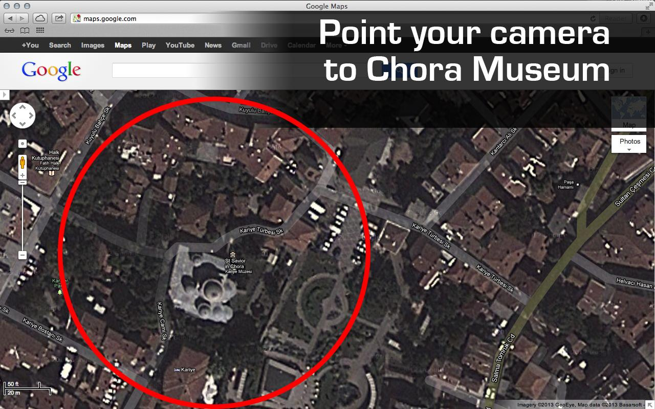 Chora Museum AR - screenshot