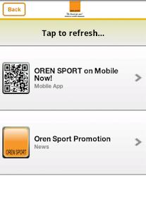 Oren Sport- screenshot thumbnail